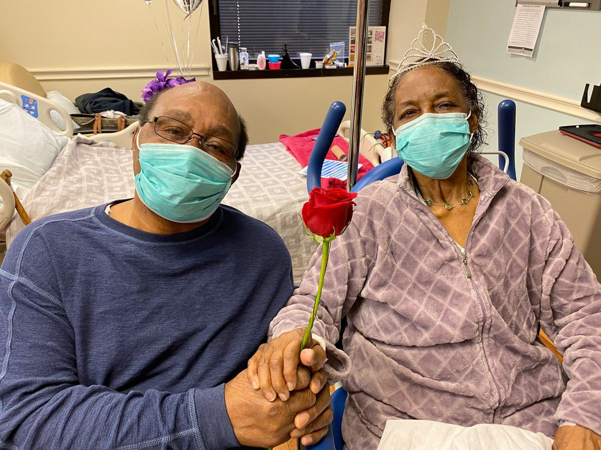 Lowcountry couple celebrates 61st wedding anniversary at hospital