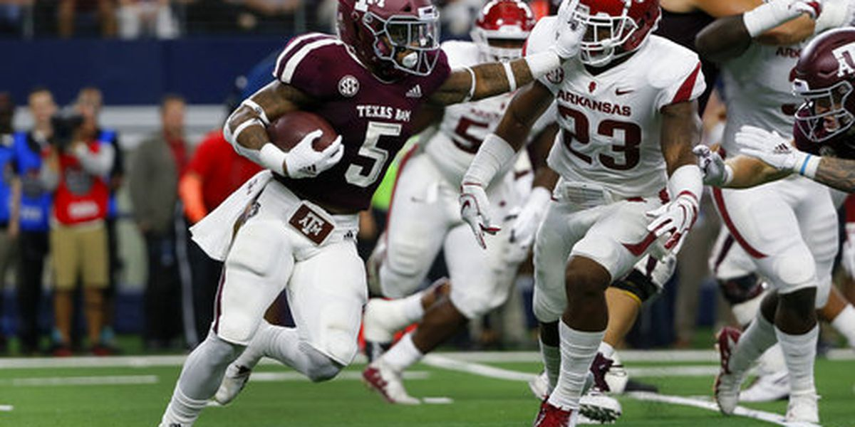 With Texas A&M up next, Carolina focuses on stopping the run