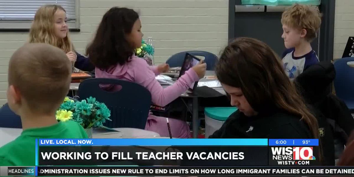 Alternative certification programs in SC helping address teacher shortage