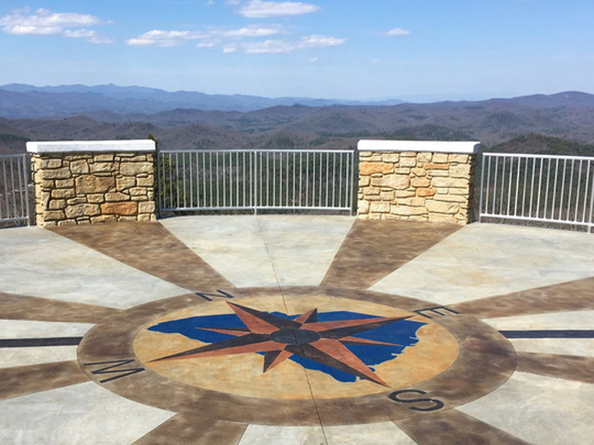 now public to highest point open SC's Observation on tower the