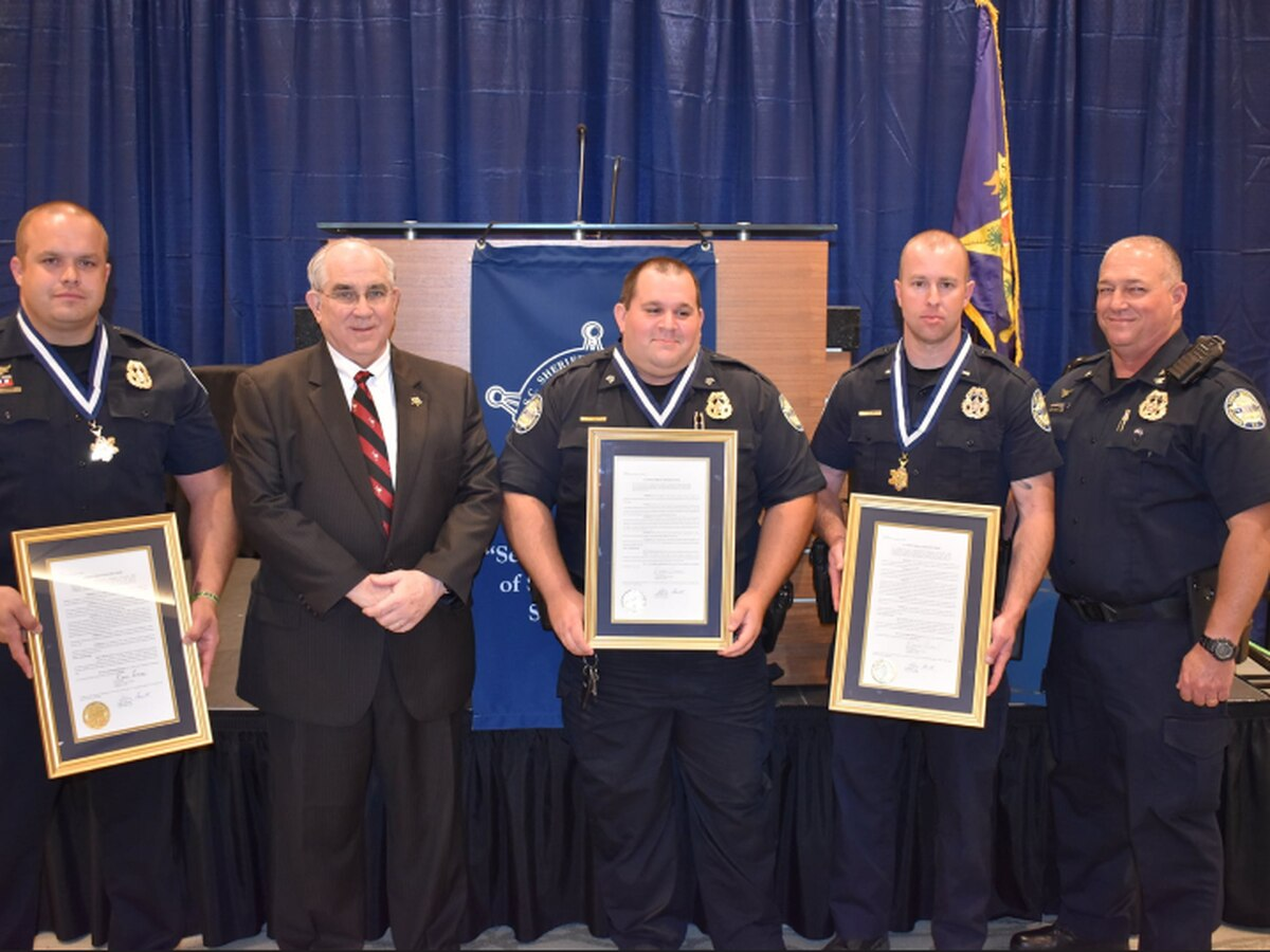 Three Newberry County deputies receive Medals of Valor