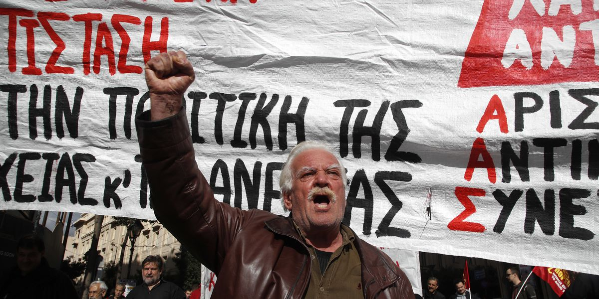 Transport disruptions hit Greece as union protests cutbacks