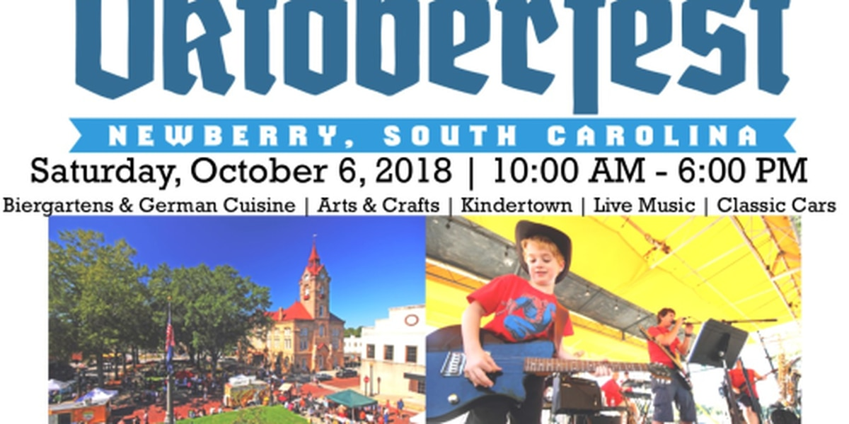 Newberry Oktoberfest coming to historic downtown