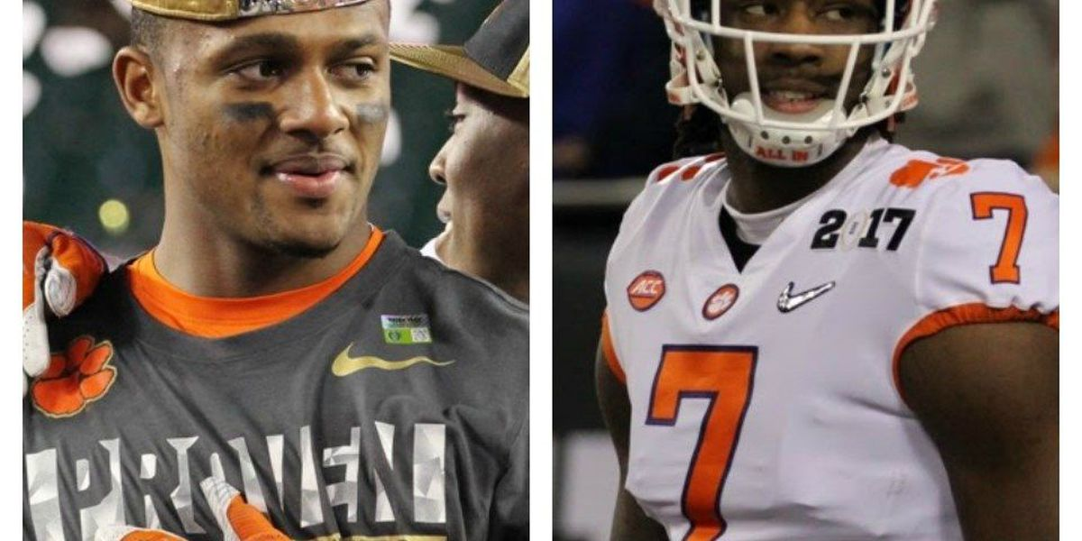 Watson, Williams sign deals with Nike ahead of NFL draft