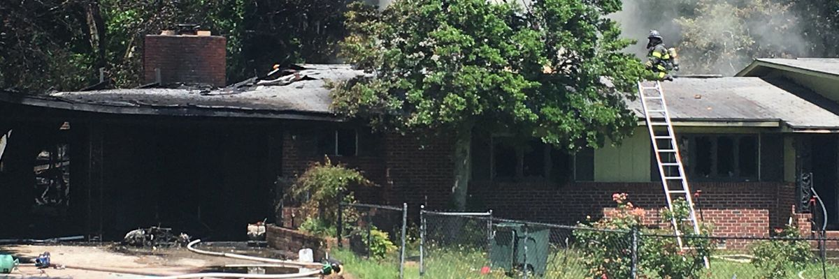 No injuries reported in Columbia house fire, fire officials say