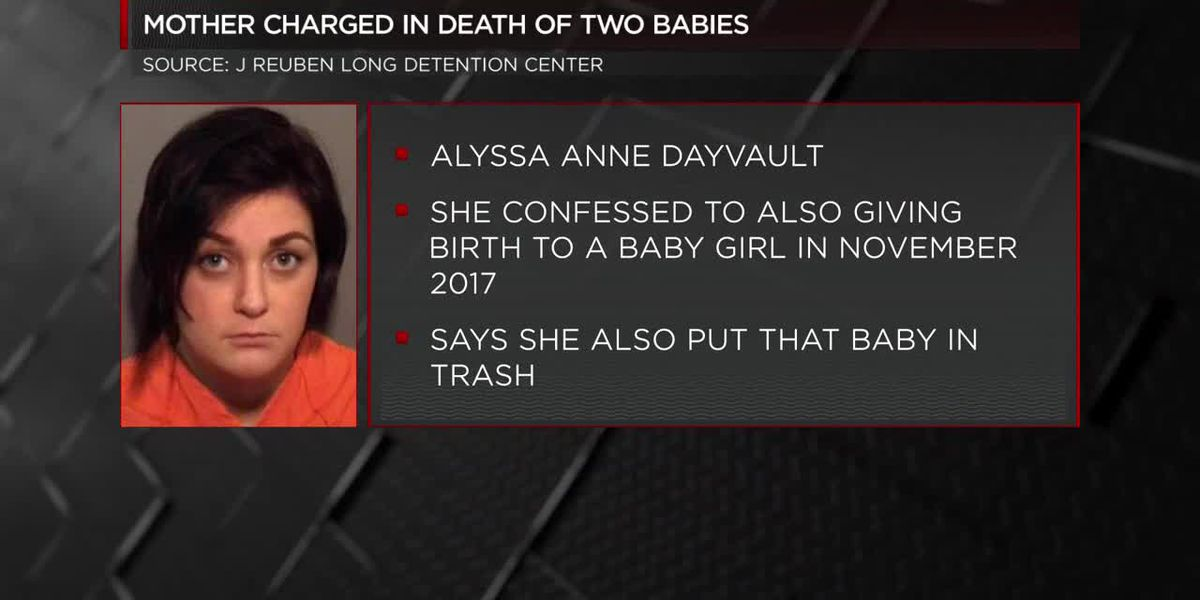 Police: North Myrtle Beach mother charged with four felonies in deaths of two babies