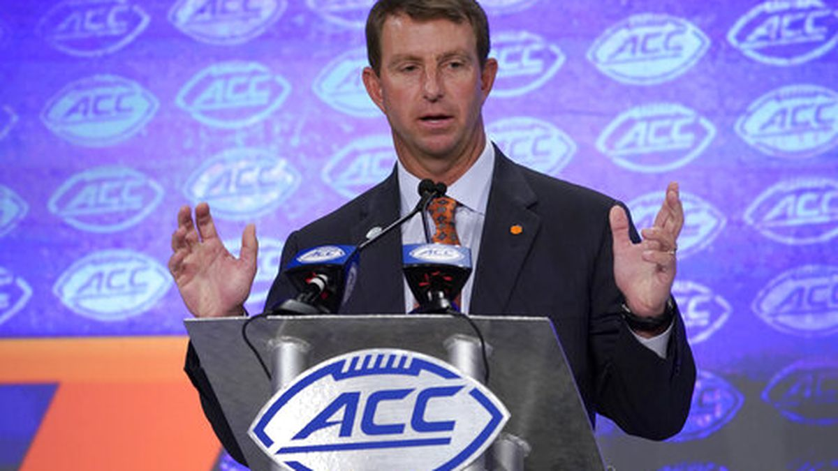 Clemson favored by media to win ACC title