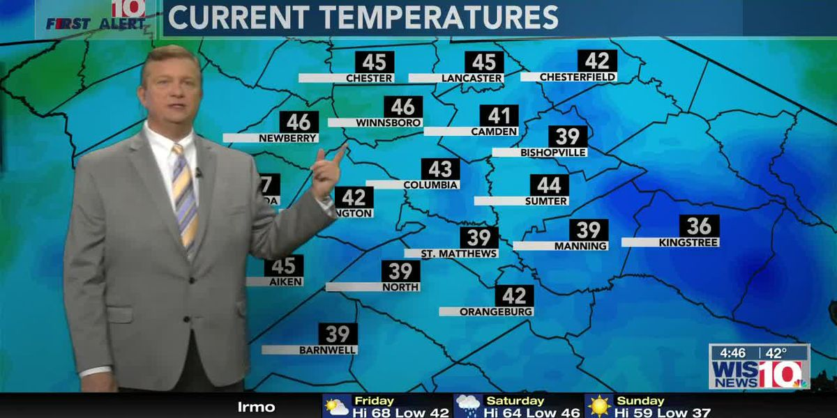 First Alert Forecast: Your Weekend: Soggy Saturday...Sunny Sunday