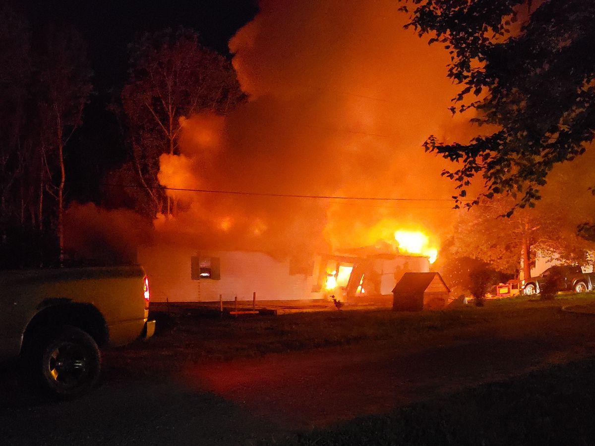 Investigators: House set ablaze in NC, leaving two dead and one missing