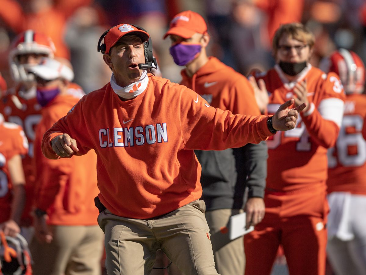 "Swinney voices displeasure & believes FSU used COVID as an ""excuse"" to cancel"