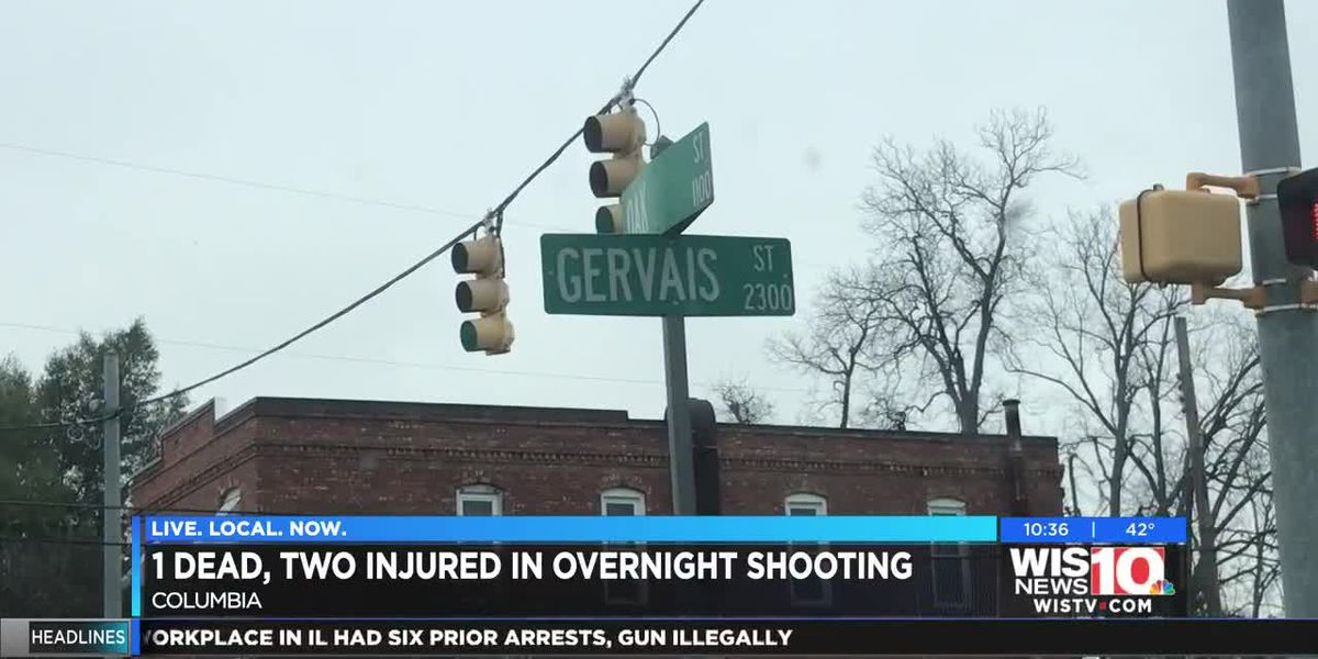 CPD: 1 dead, 2 injured in shooting on Gervais St. early Sunday