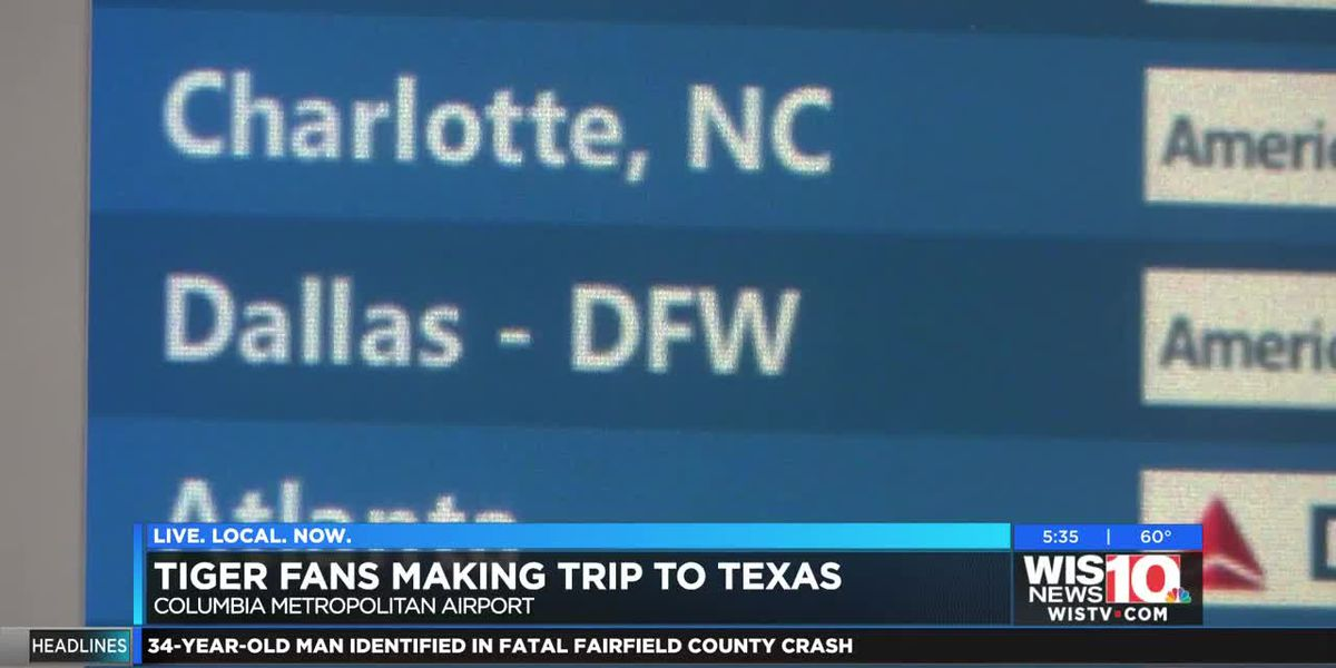 Clemson fans head to Dallas for the Cotton Bowl