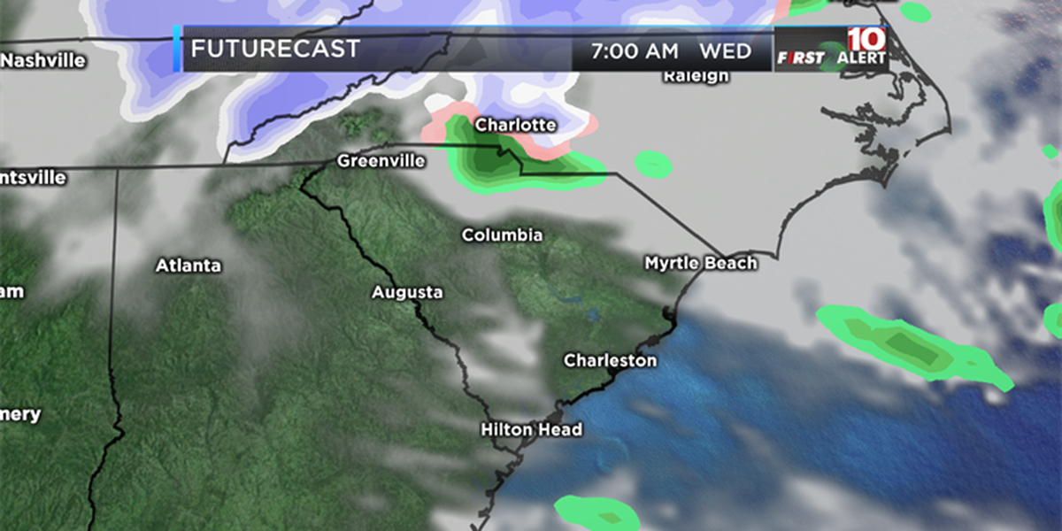 FIRST ALERT: First full day of Spring could bring flurries for some in the Midlands