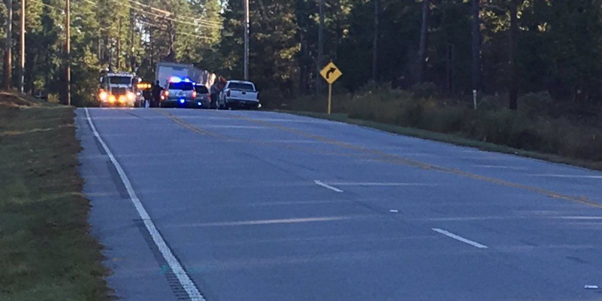 First Alert Traffic: 1 lane open after overturned tractor trailer blocked road in West Columbia