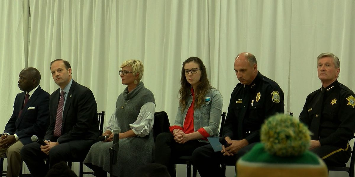 Law enforcement hosts town hall in an effort to eliminate human trafficking
