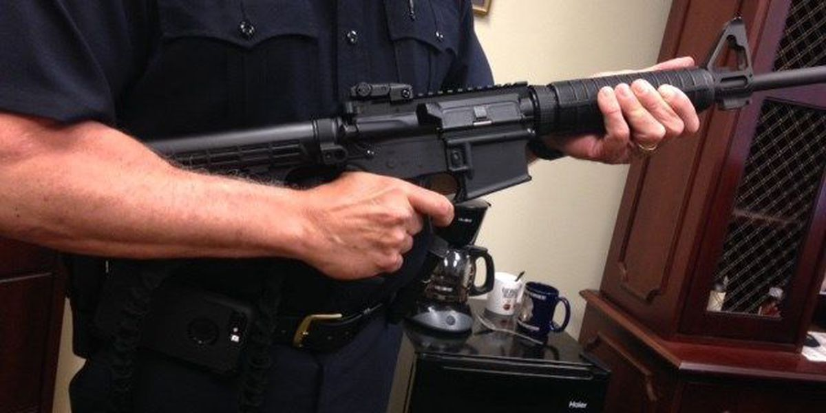 Funding the main strain for SC law enforcement in getting needed weapons