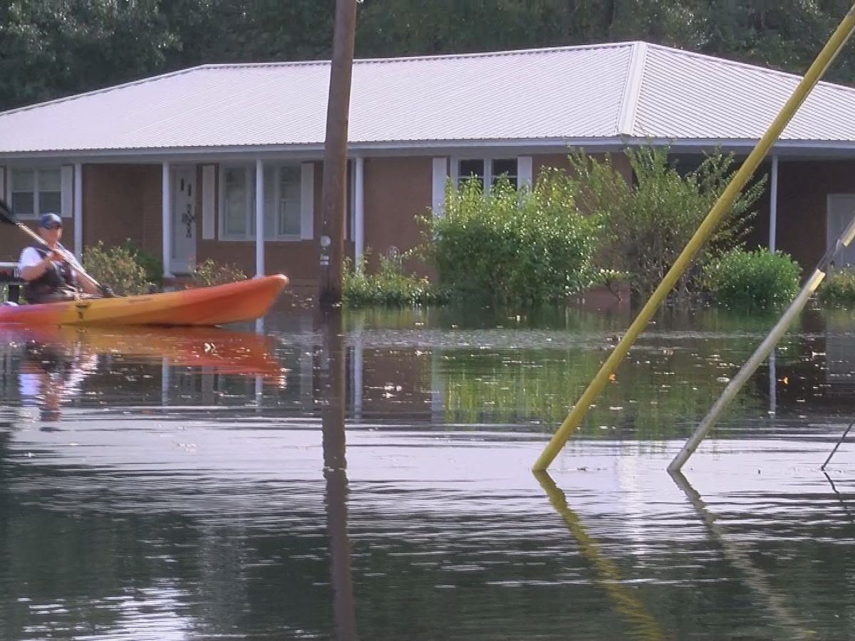 'The neighborhood is absolutely gone' flood waters continue to flow through homes in Conway