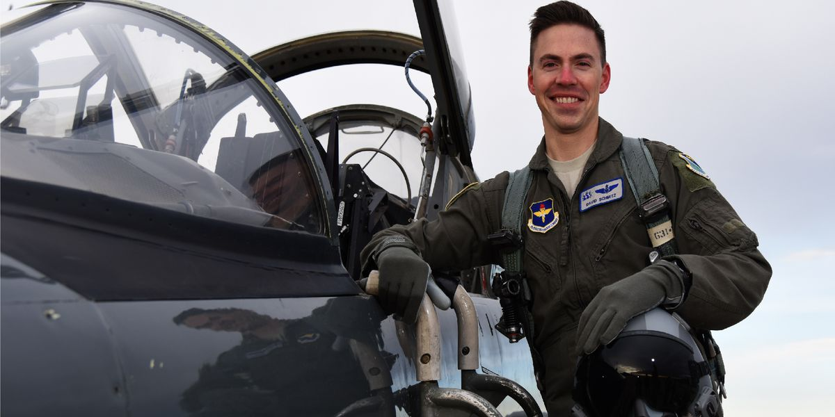 Scholarship created to honor fallen Shaw Air Force Base pilot Lt. David Schmitz