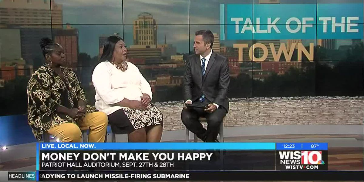 Talk of the Town: Patriot Hall Auditorium in Sumter to present 'Money Don't Make You Happy'