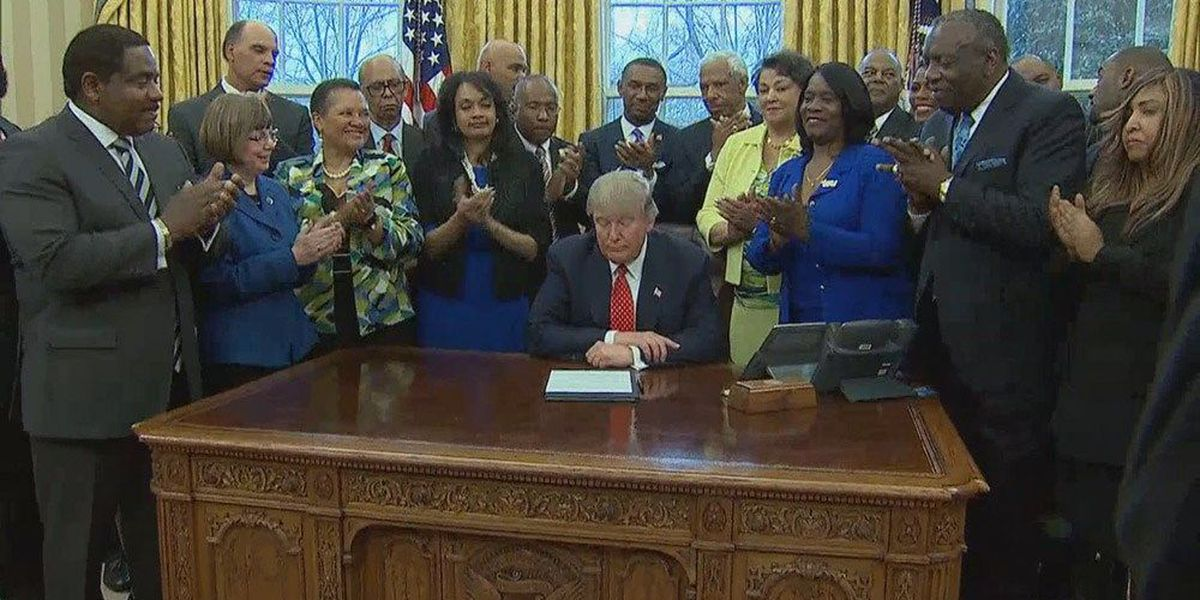 President Trump signs executive order to boost support for HBCUs