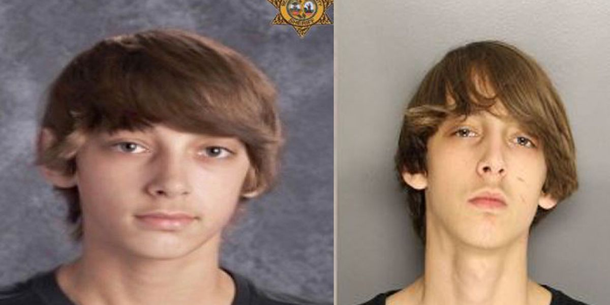 Deputies: Teen out on parole for shooting father re-arrested on gun charges
