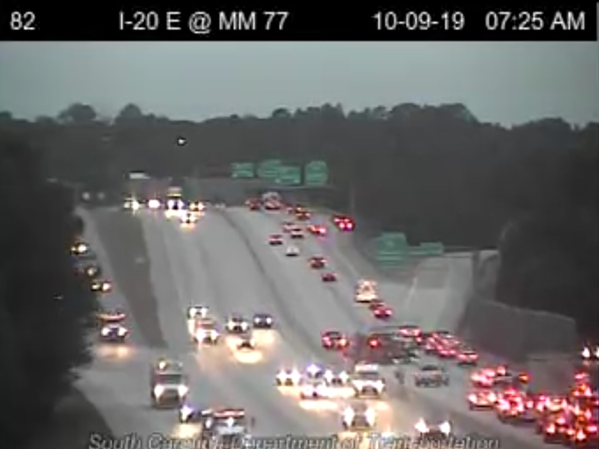 SCHP investigating multiple collisions along I-20 West near Sesquicentennial State Park