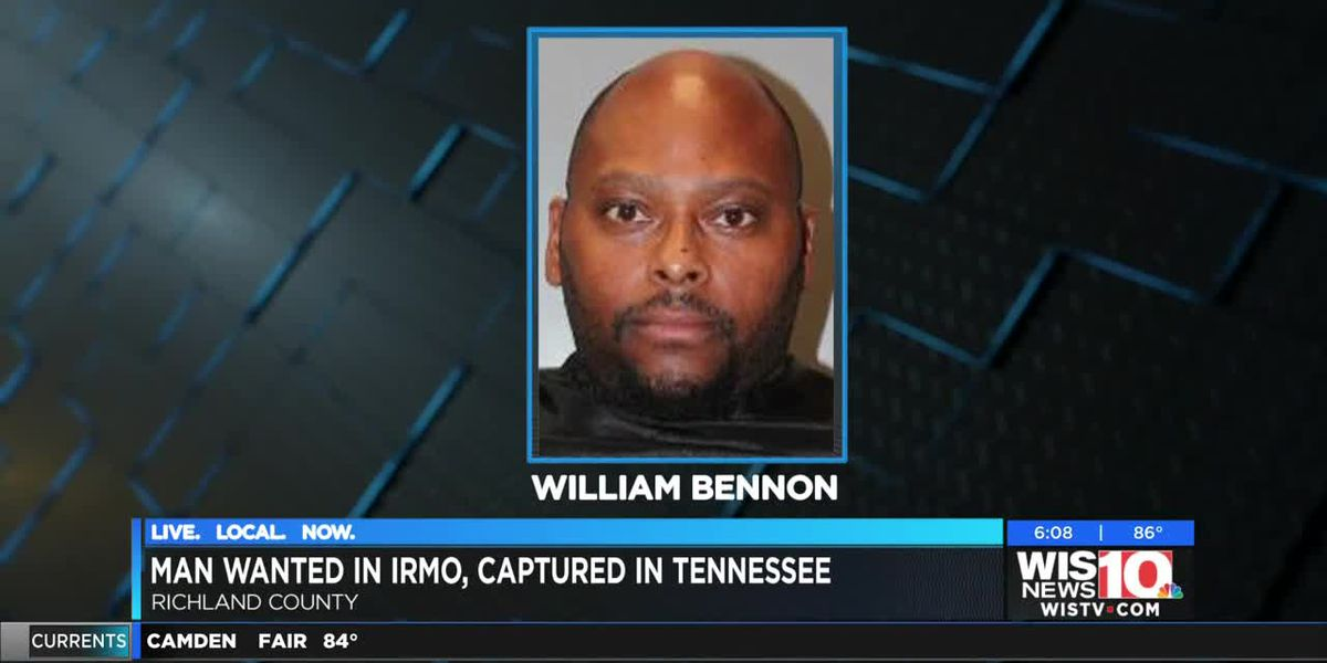 Irmo fugitive wanted for sexual conduct with a minor arrested in Tennessee