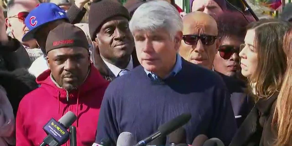 Blagojevich thanks Trump, pushes for criminal reform