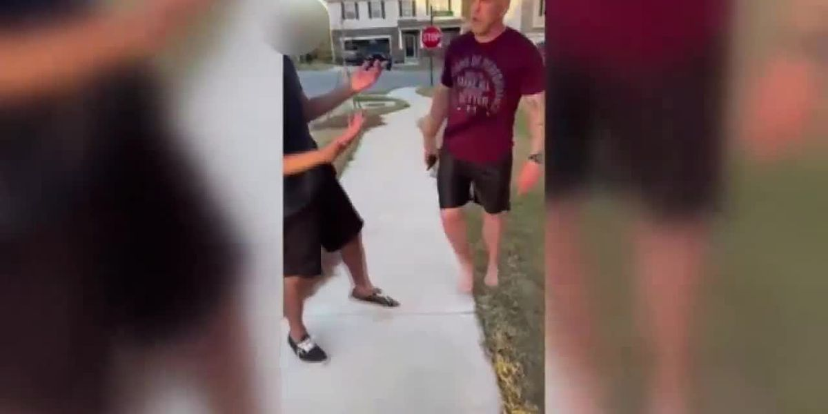 Woman behind viral video of soldier's confrontation with Black man shares what happened