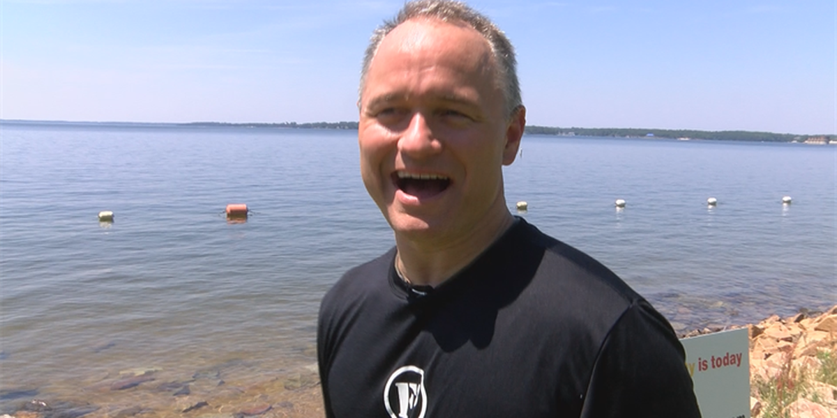 Man completes longest recorded Lake Murray swim to raise money for Leukemia and Lymphoma society