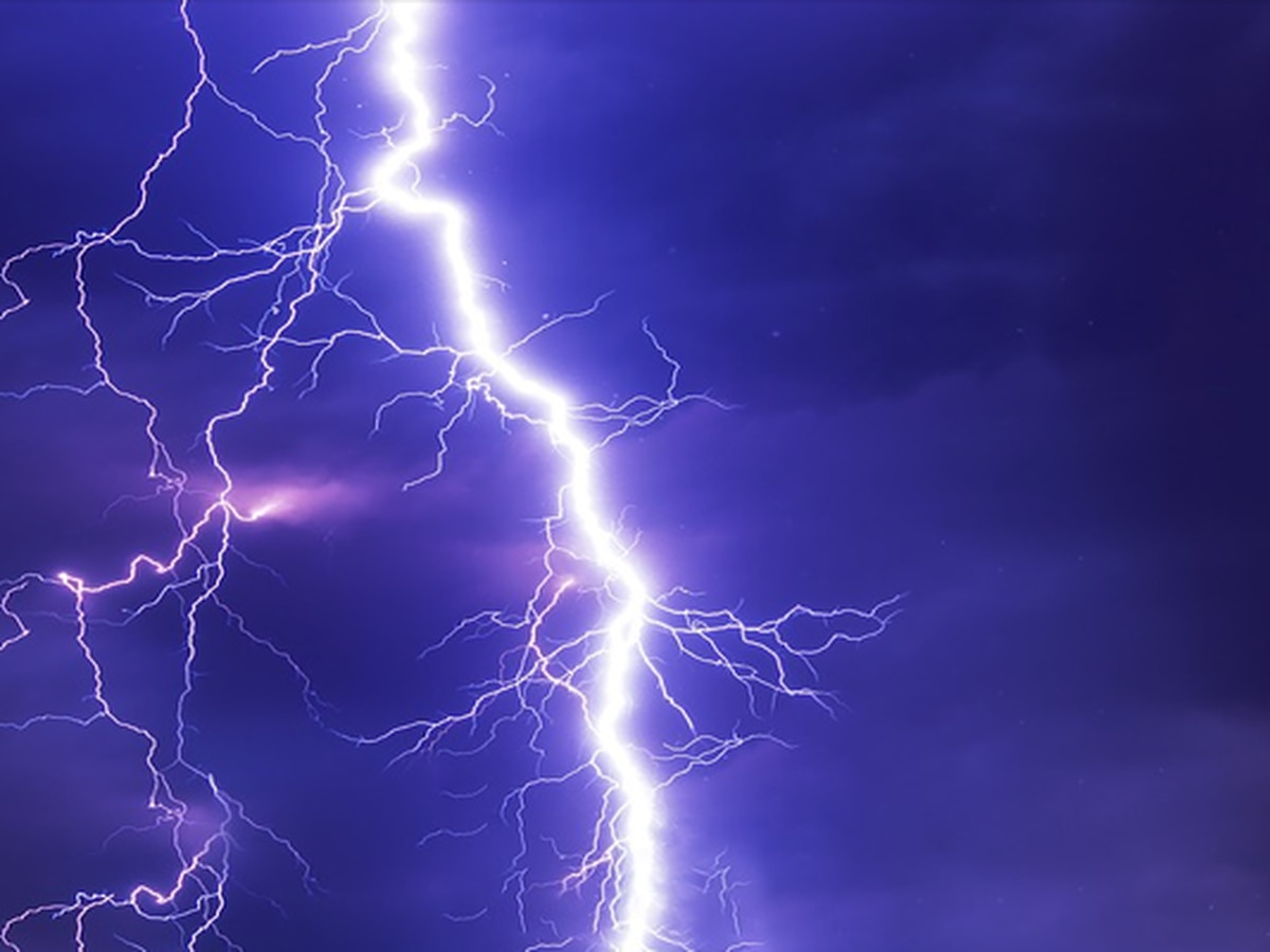 Person struck by lightning in Blythewood, officials say