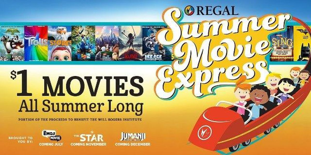 Columbia theaters offer $1 movies this summer!