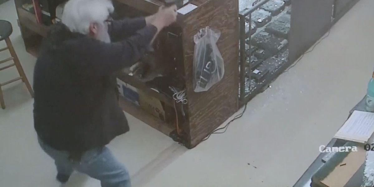 Video: Gun store owner shoots, kills armed robber