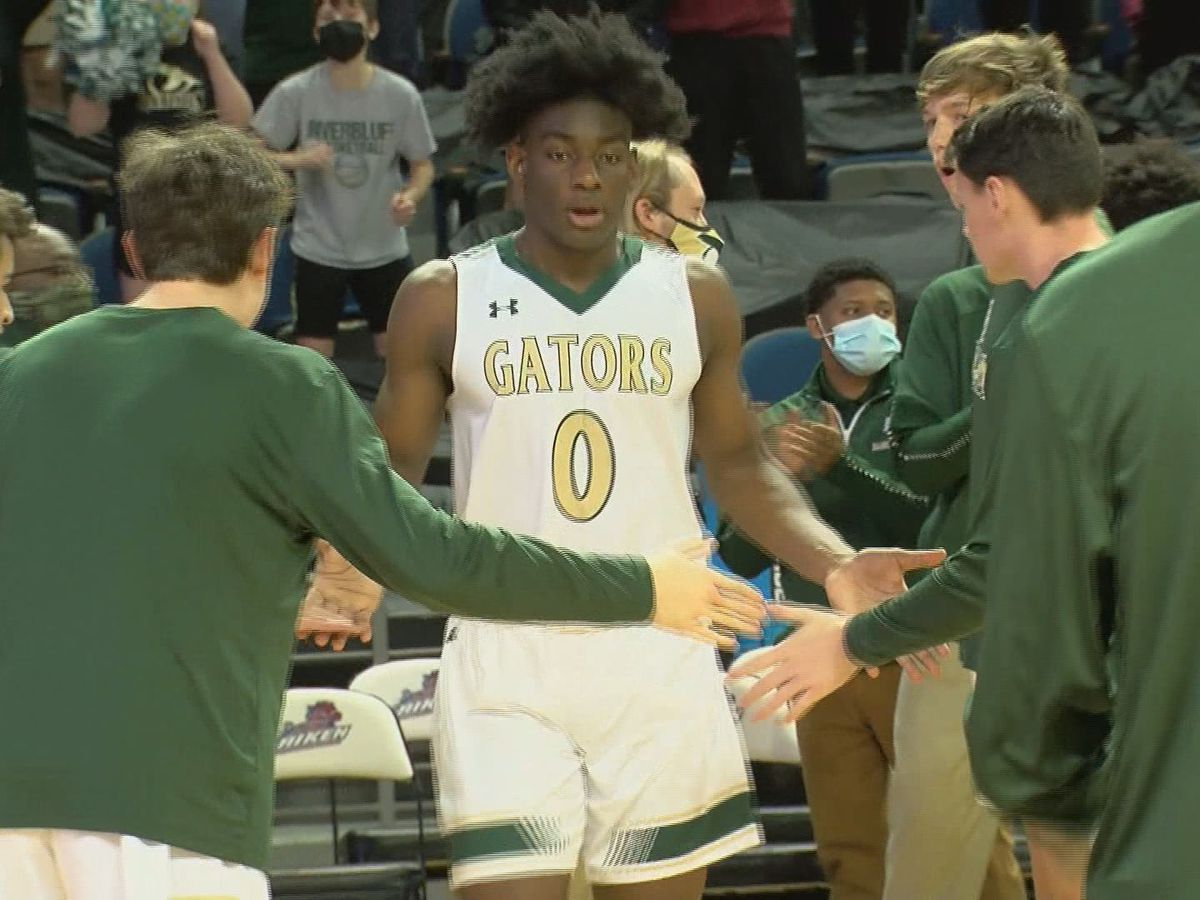 River Bluff celebrates first state title