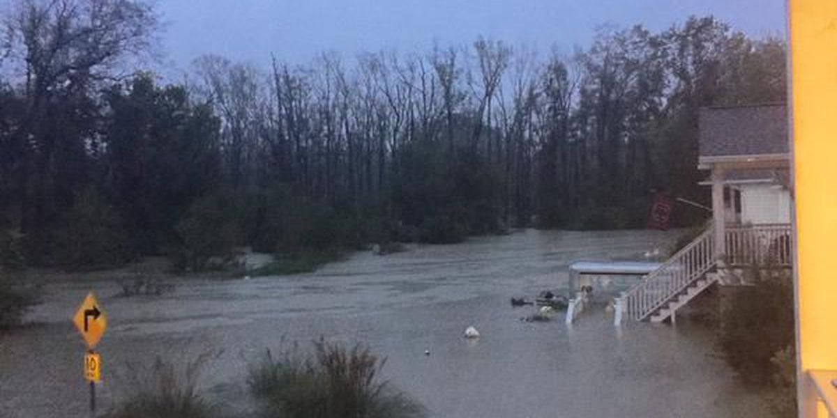 List of shelters opened for people escaping flood