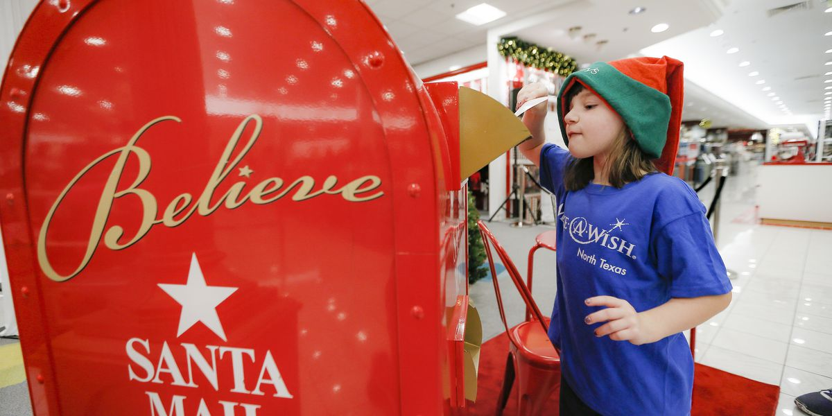 Want Santa to answer your child's letter? The Postal Service can make it happen