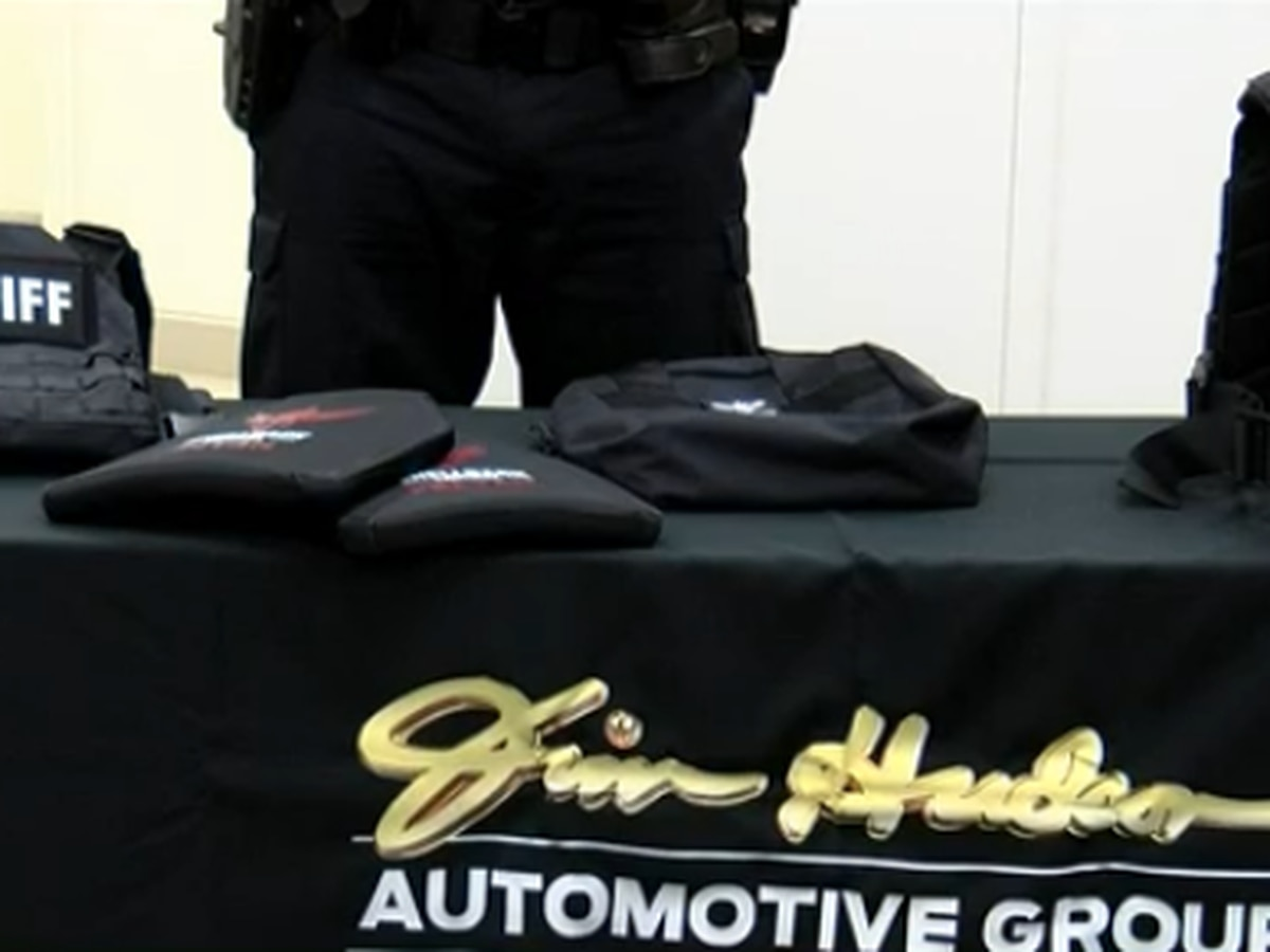 Jim Hudson Automotive makes large donation to Lexington County Sheriff's Foundation