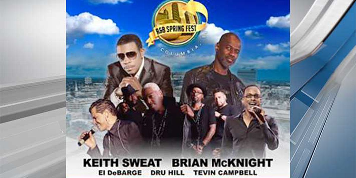 Keith Sweat, Brian McKnight to headline Columbia R&B Spring Fest
