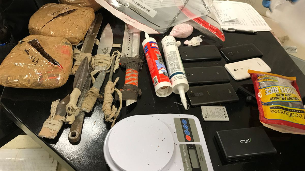 The numbers are in: SCDC sweep of Broad River Correctional finds less contraband than in years past