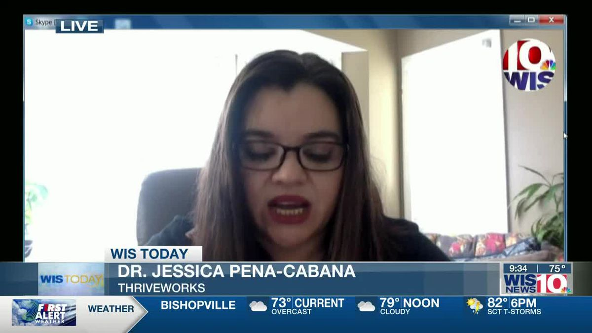 WIS TODAY: Dr. Pena-Cabana discusses mental health during COVID-19 pandemic