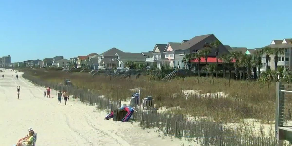 Beach Accesses Closed North Myrtle