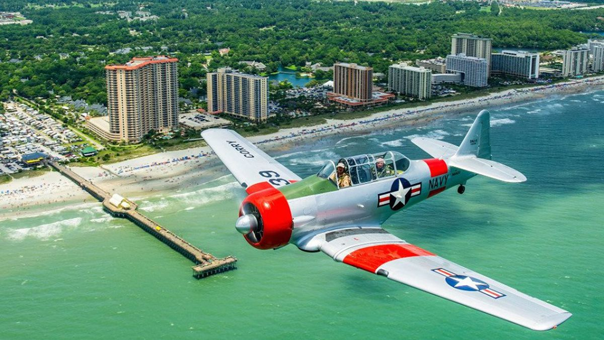 SC celebrates the 4th of July with patriotic 'Salute From the Shore' flyover