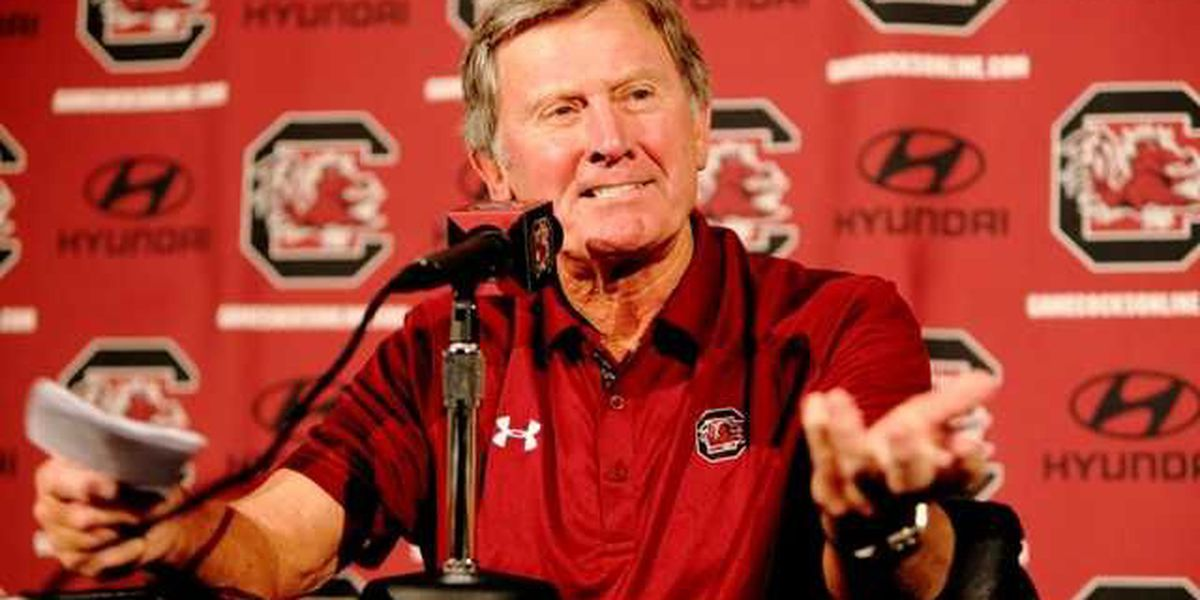 Steve Spurrier taking loss hard