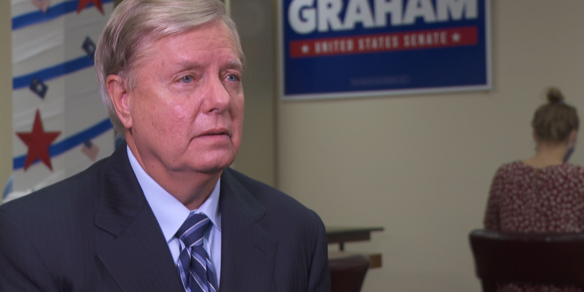 Graham discusses state of the race, Black Lives Matter, and absentee voting in one-on-one interview