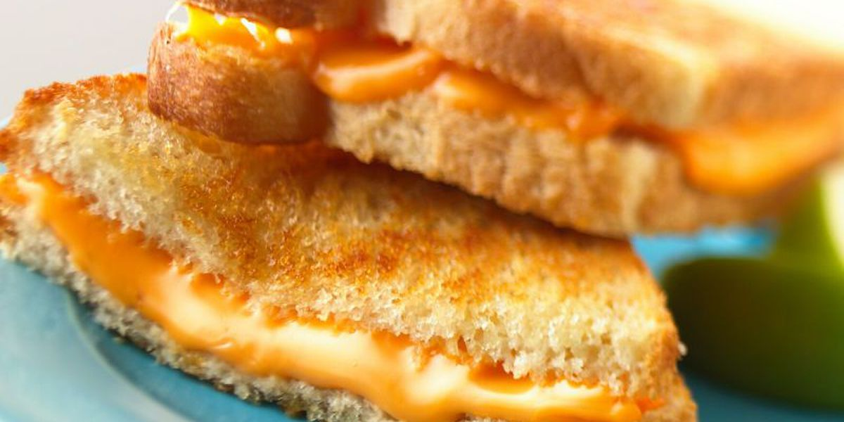 National Grilled Cheese Sandwich Day is April 12