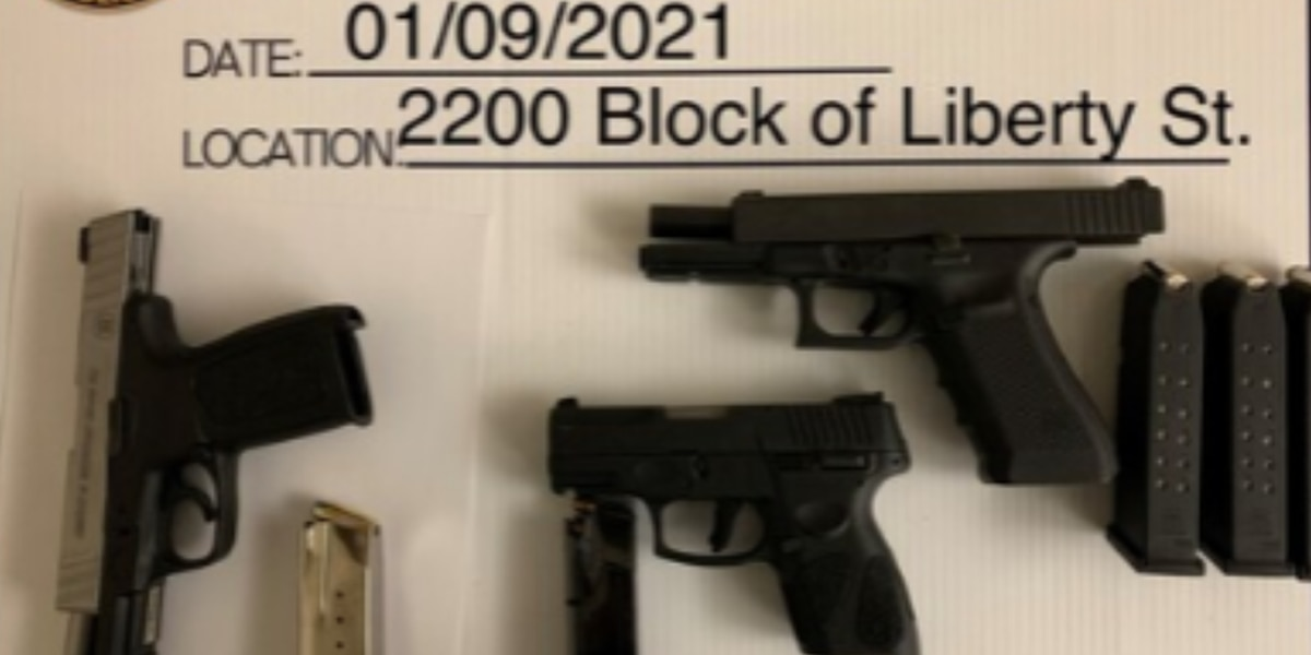 Guns seized by CPD after brothers involved in shooting