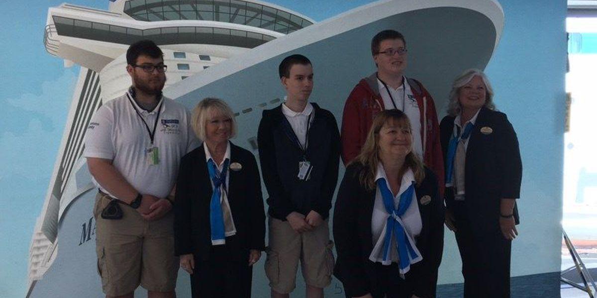 Midlands students receive job training on cruise