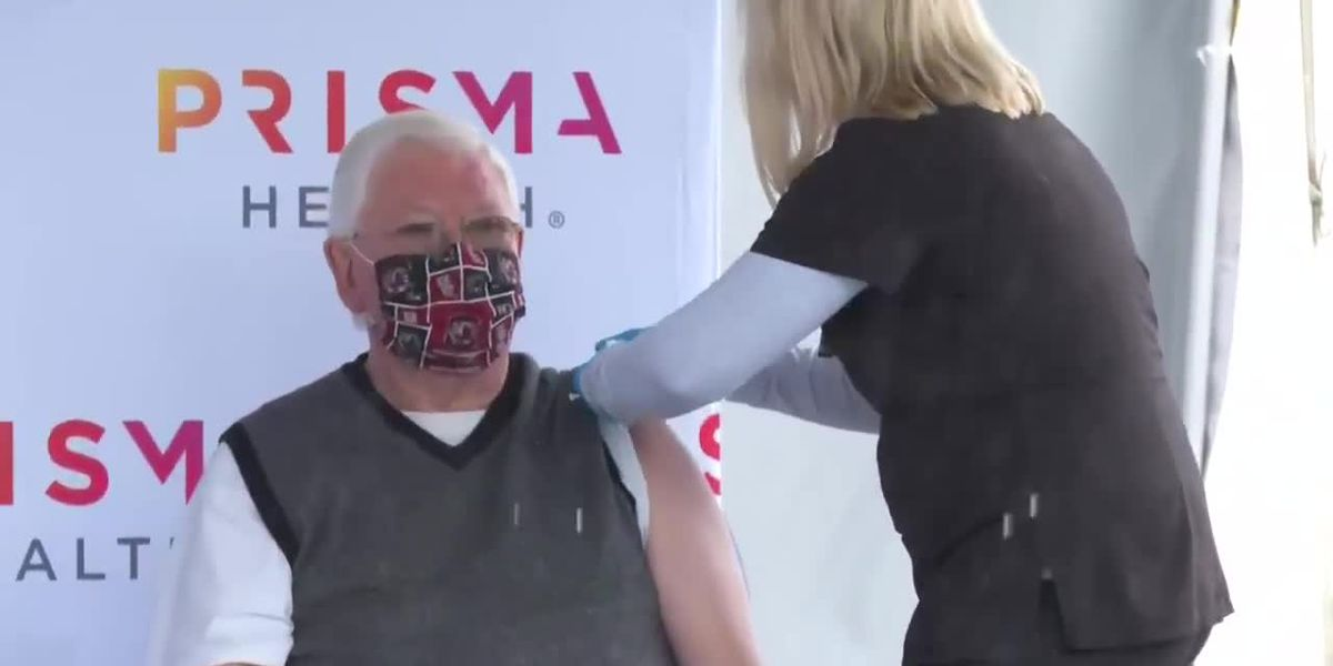 Prisma Health moves COVID-19 vaccination site from Gamecock Park to Colonial Life Arena