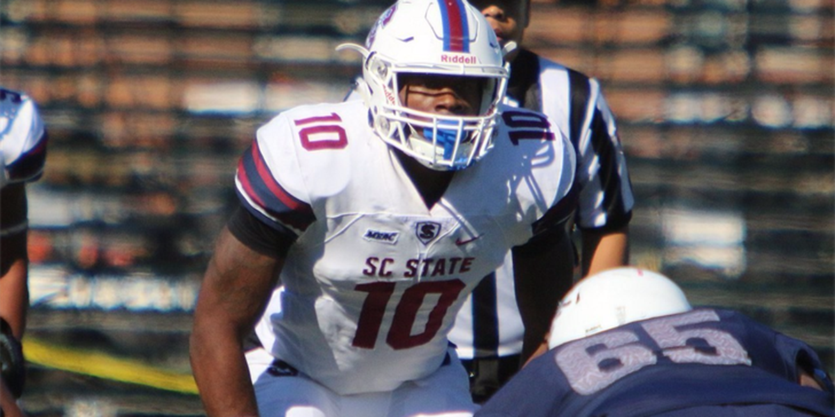 SC State's Leonard named to FCS All-America First Team