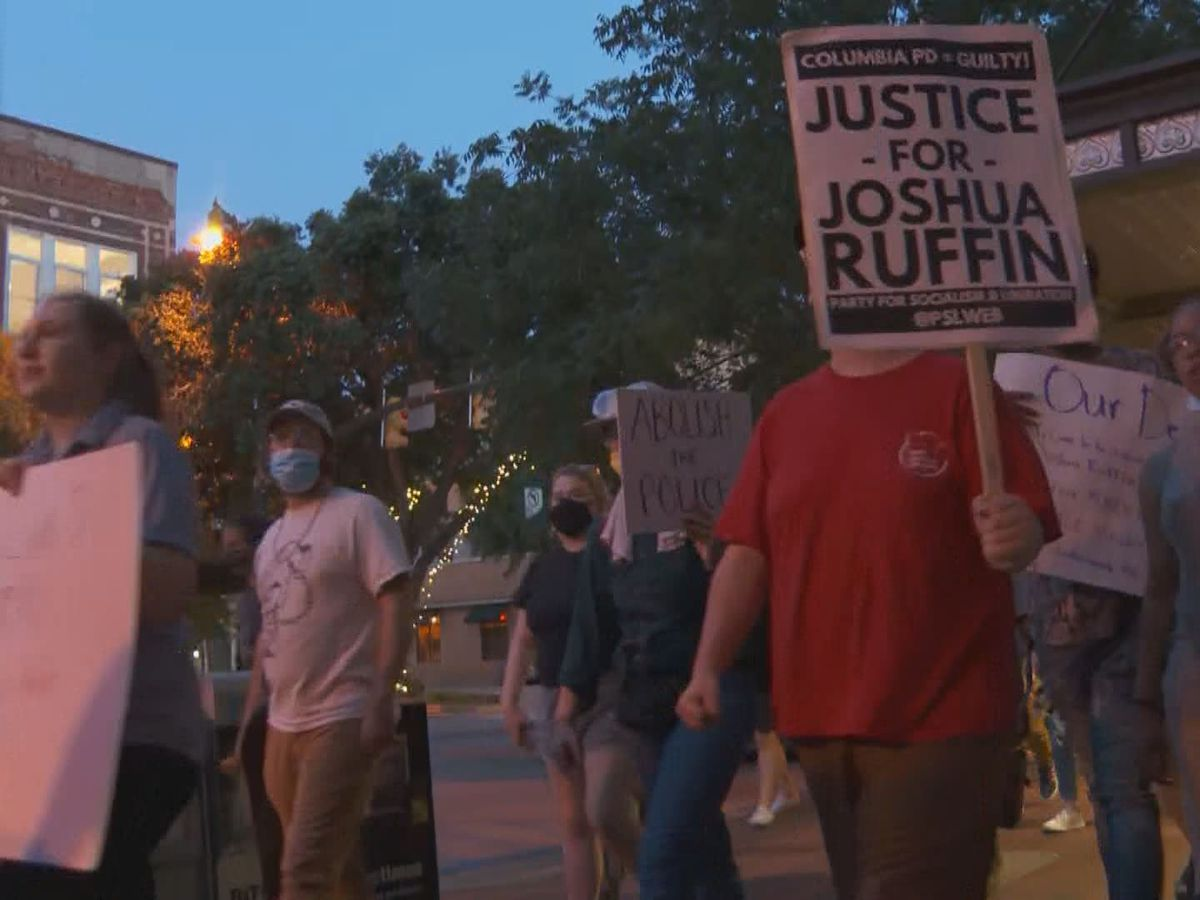 DAY 4: Peaceful protesters march from State House through downtown Columbia